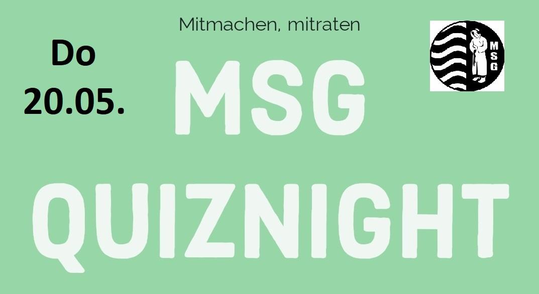 3. MSG Quiznight