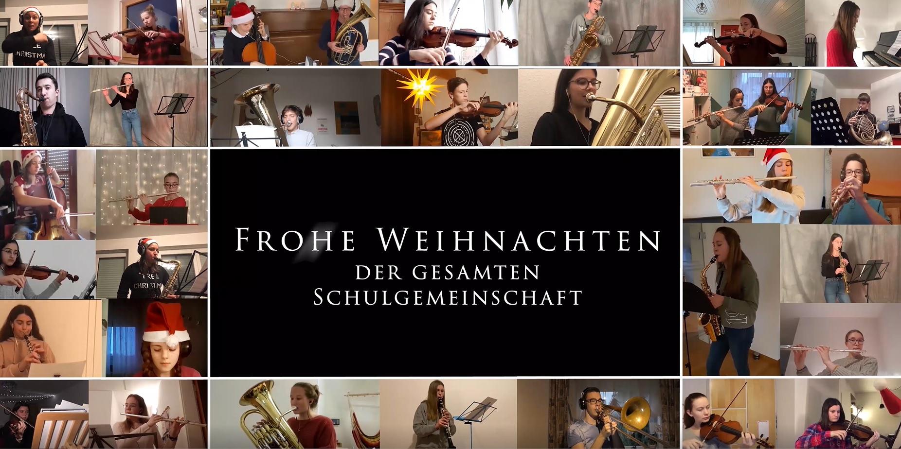 Musikalischer Gruß des Mönchsee-Gymnasiums